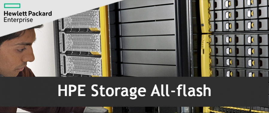 HPE All-flash storage