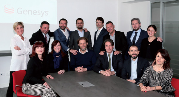Il team Genesys in Italia