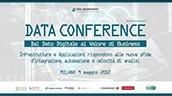 Data Conference, Milano 9 maggio 2017