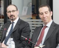 Pablo Pellegrini e Andrea Tieghi