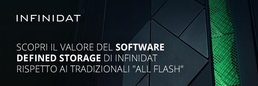 Software Defined Storage di Infinidat