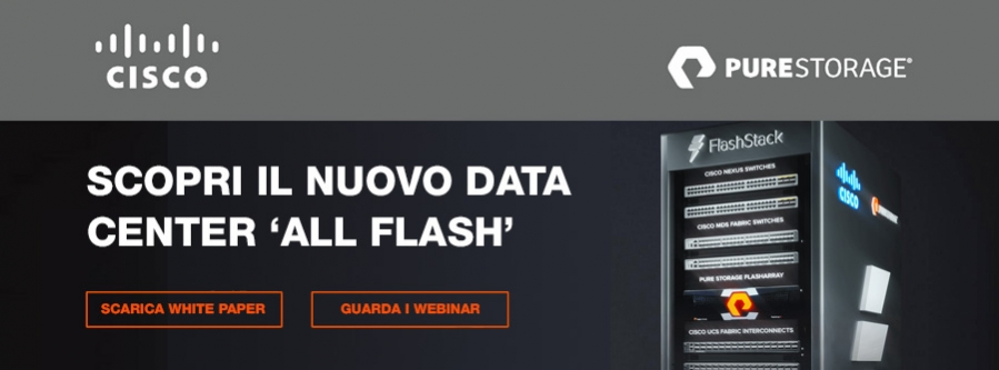 Scopri il Data Center All Flash