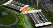 Una vista del data center di Aruba che nascerà a Roma