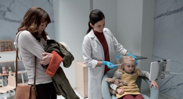 Una scena tratta da 'Arkangel', seconda puntata della quarta stagione di 'Black Mirror'