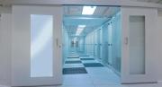 Un esempio di installazione di un corridoio realizzato da Tecnosteel