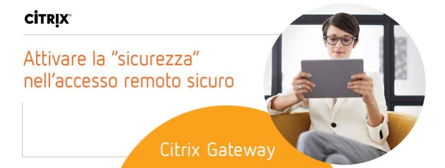 CITRIX - accesso remoto sicuro