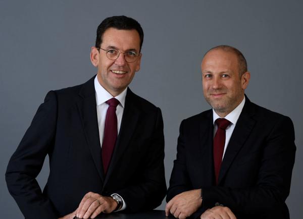 Hubert Kofler e Michael Piok.