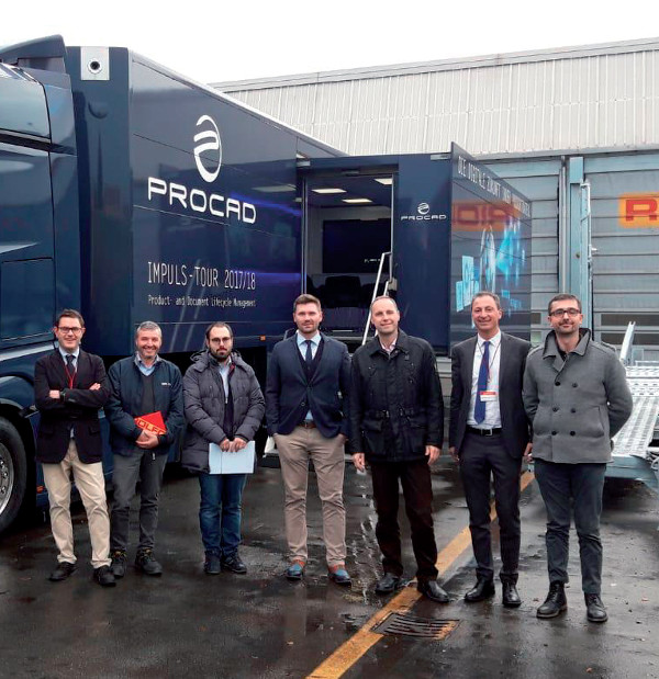 Roadshow Impulse Tour: lo staff di PRO.FILE Italia presso ROLFO SpA