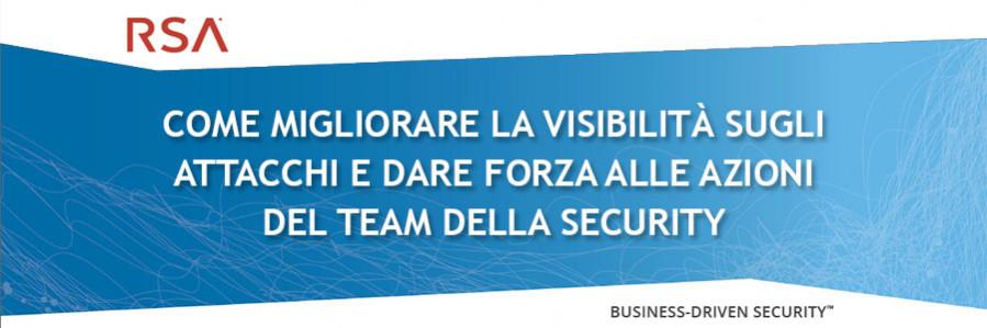 RSA - visibilità attacchi