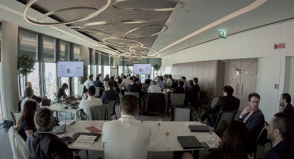 La community di Robotic Process Automation del Gruppo riunita nella sede di Milano