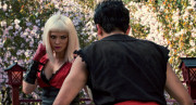 Pom Klementieff e Ludi Lin negli avatar virtuali di Karl e Danny in Striking Vipers