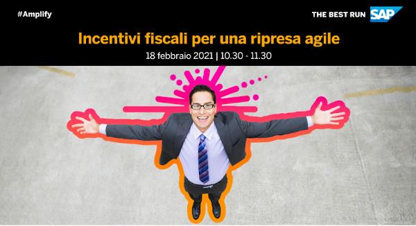 Incentivi fiscali per una ripresa agile