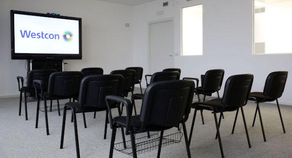 L'area training riveste un ruolo centrale nella nuova sede di Westcon.