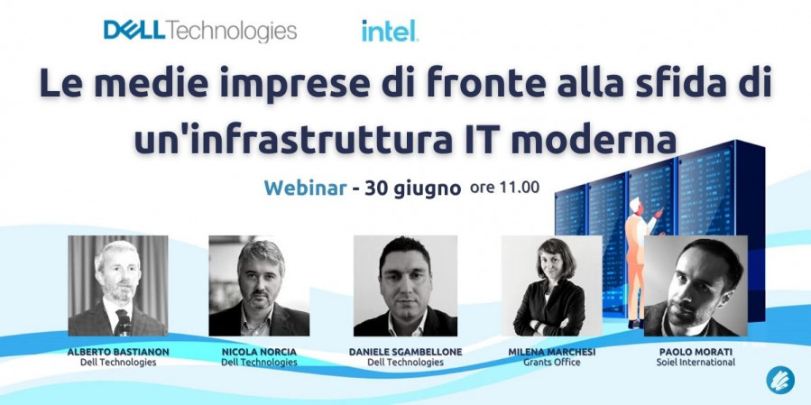 Le medie imprese di fronte alla sfida di un'infrastruttura IT moderna
