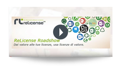 Guarda il video RelICENSE Roadshow 2018