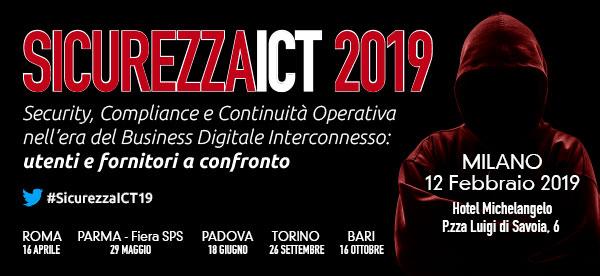 Sicurezza ICT 2019
