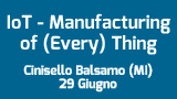 Dall'Internet of (Every) Thing al Manufacturing of (Every) Thing